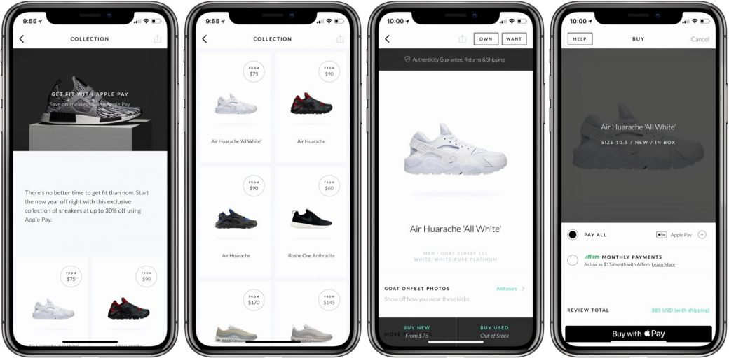 Sneaker platform GOAT applies machine