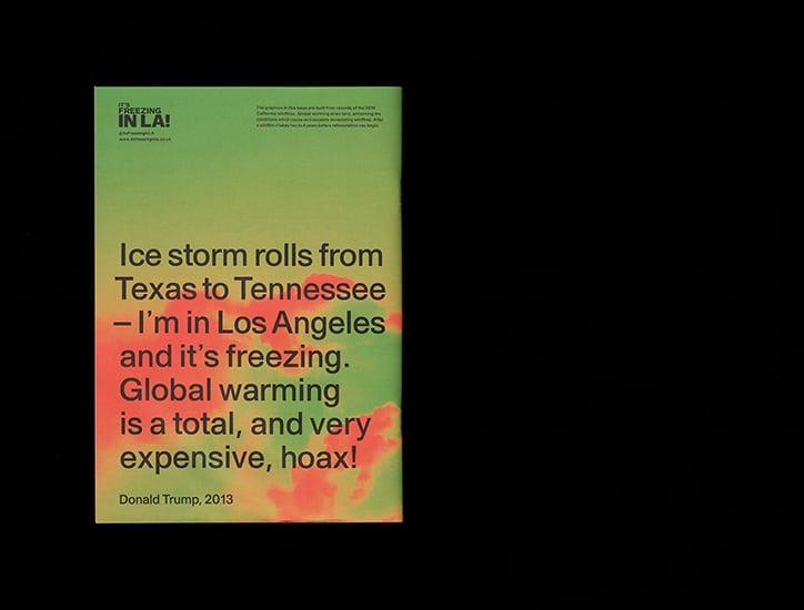 It's Freezing in LA! Climate Change Magazine