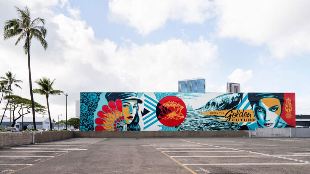 POW! WOW! Hawaii Shepard Fairey Photography by Brandon Shigeta