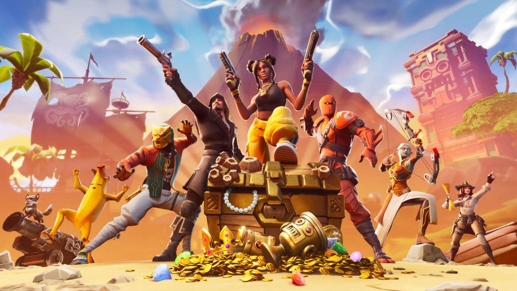 fortnite is a video game that has social media like features