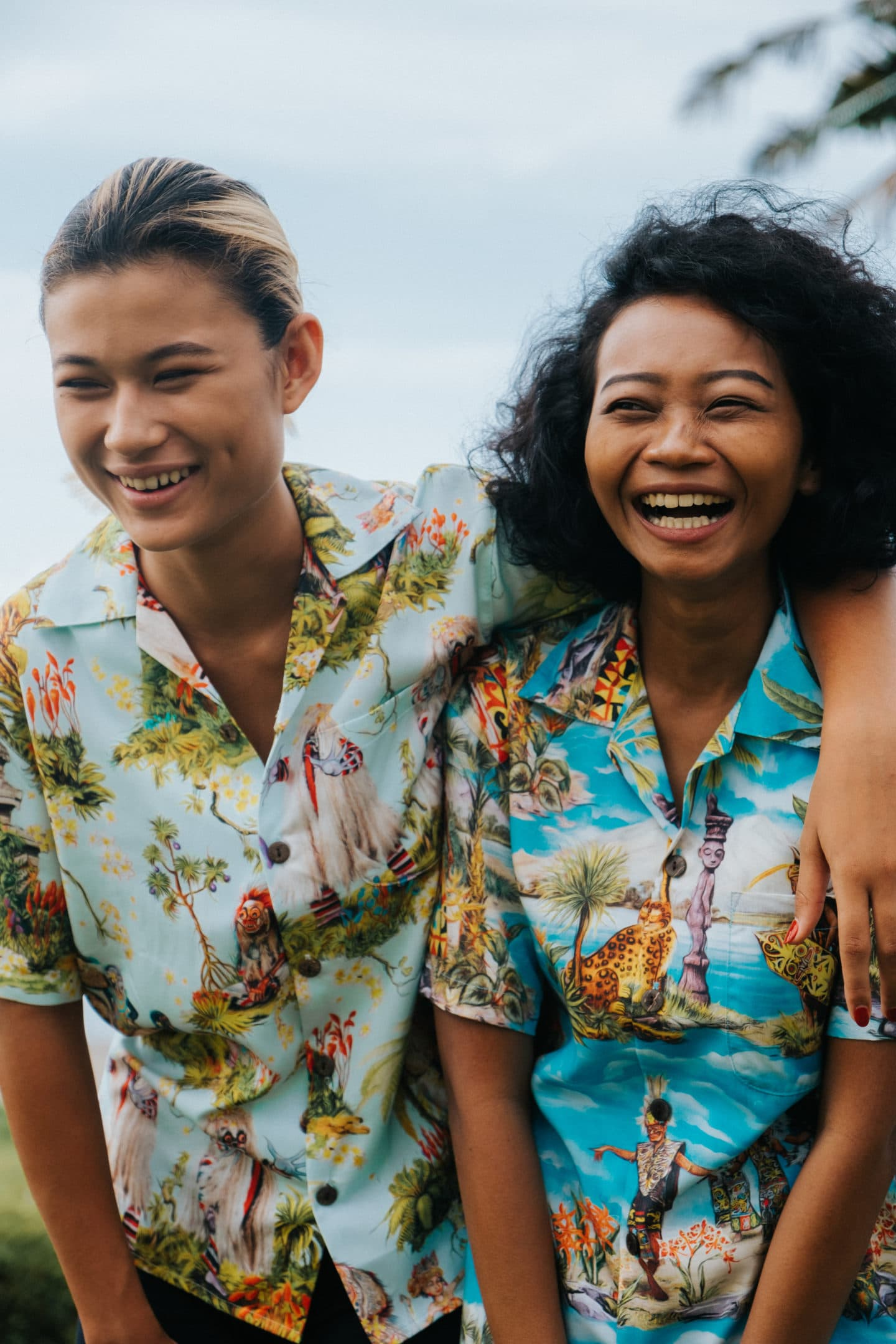 Potato Head Bali Beach Hawaiian shirt Spring/Summer 2019 collection girls