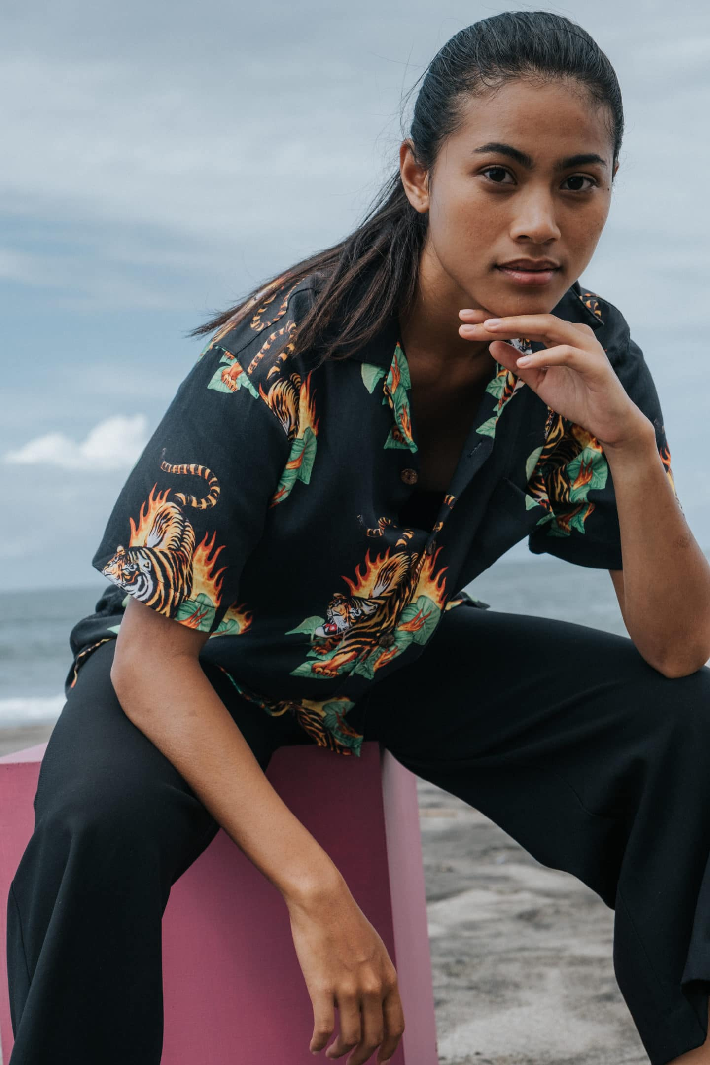 Potato Head Bali Beach Hawaiian shirt Spring/Summer 2019 collection girl