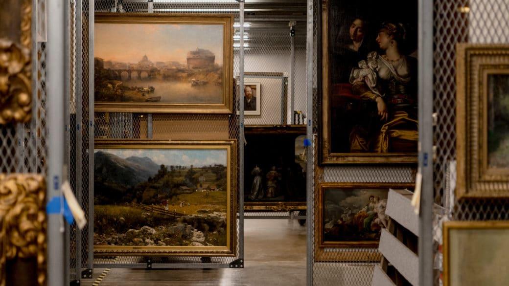 Museum Stockroom Overloaded