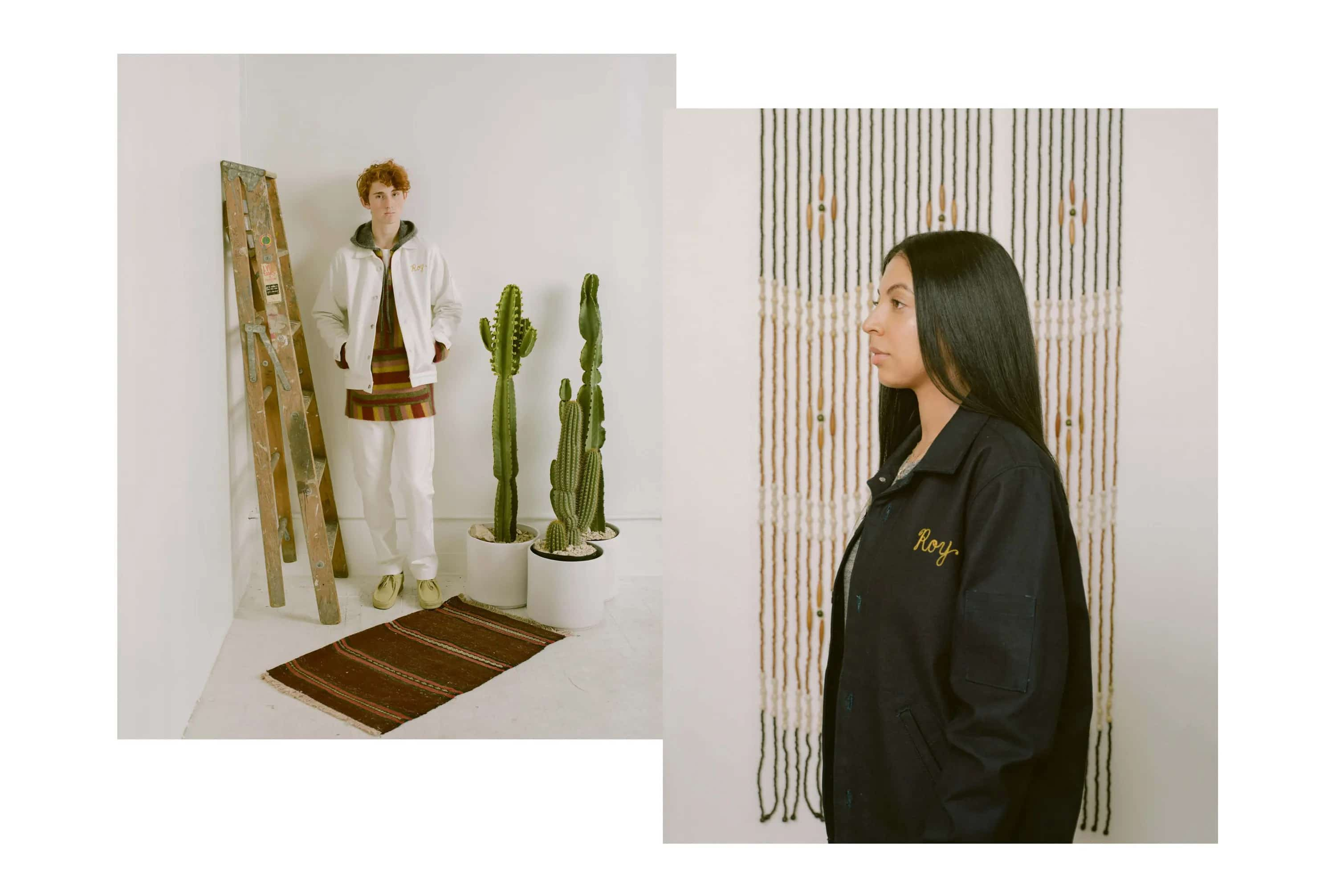 Brownstone Spring/Summer 2019 interview girl guy cactus